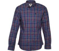 Timberland Mens Smart Dobby Checked Long Sleeve Shirt Multi