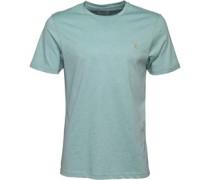 Herren Denny Marl T-Shirt Grünmeliert