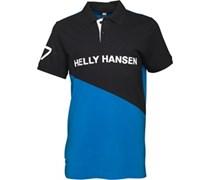 Helly Hansen Herren Cut And Sew Cobalt Polohemd Kobaltblau
