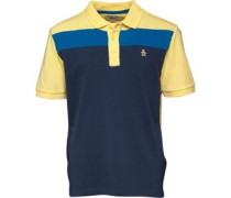 Original Penguin Junior Cut And Sew Polo Dark Denim