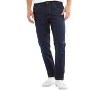 Herren Norris Jeans mit geradem Bein Dunkel Navy