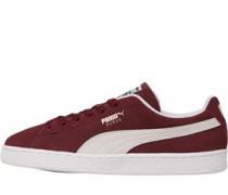 Suede Classic+ Sneakers Burgunder