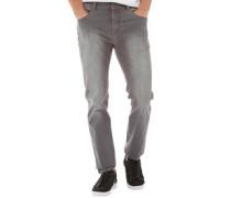 Herren 5 Jeans in Slim Passform Verblasstes Grau
