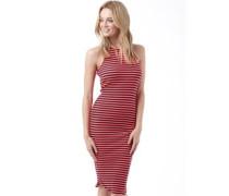 Superdry Womens Sheer Rib Racer Dress Fluro Coral/Navy