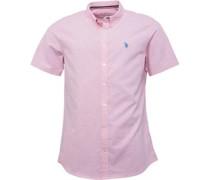 Herren Divot Oxford Hemd mit kurzem Arm Rosa