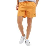 Mens Plain Swimshort Sunset Orange