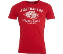 Herren Leo T-Shirt True Red