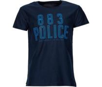 883 Police Herren Selby T-Shirt Blau