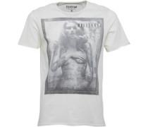 Firetrap Herren Adam Whisper T-Shirt Weiß
