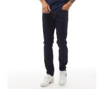 Daubeney Jeans mit zulaufendem Bein Dunkel Denim