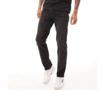 Jeans in Slim Passform Verwaschenes