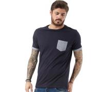 Herren Pyram T-Shirt Navy