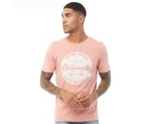Torino T-Shirt Korallenrot