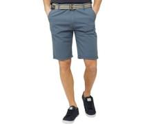 Baumwolle Shorts Indigo