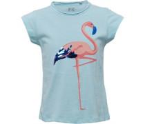 Mädchen T-Shirt Hellblau