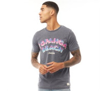 Becks T-Shirt Verwaschenes Schwarz