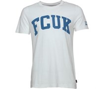 French Connection Herren FCUK LDN T-Shirt Weiß