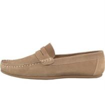 Herren Suede Schuhe Beige
