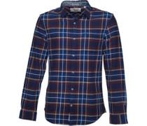 Original Penguin Mens Brushed Cotton Shirt Medieval Blue