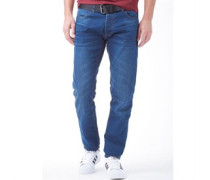 Herren Jeans in Slim Passform Blau
