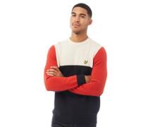 Pullover mit Rundhalsausschnitt Navy