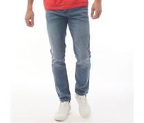 Melfort Jeans in Slim Passform Verwaschenes