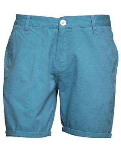 Herren Twill Shorts Blau