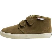 Jungen 2183-SUVJ Freizeit Schuhe Olivengrün