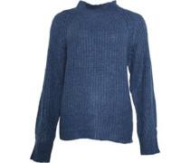 Pullover mit Rundhalsausschnitt Denim