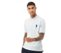 USPA DHM Large Pique Polohemd Hell