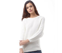 Ted Baker Womens Eveleen Stitch Sweater Ecru