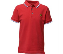 Lyle And Scott Jungen Tipped Polohemd Rot