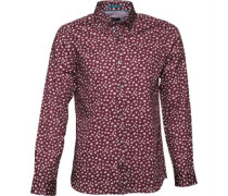 Ted Baker Mens Exotiq Floral Print Shirt Red