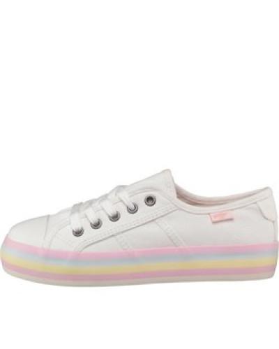 Damen Magic Beach Sneakers Weiß
