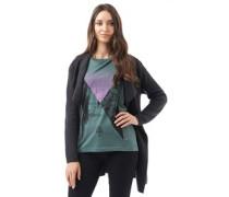 Damen Slouch Balsam T-Shirt Grün
