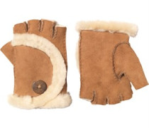 UGG Australia Damen Mini Bailey Fingerless Chestnut Handschuhe Braun