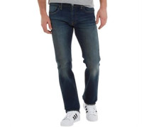 Mens 527 Slim Boot Cut Green Edge Jeans Green Edge