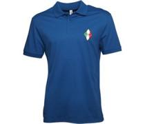 Moschino Mens Diamond Polo Bluette
