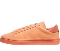 adidas Originals Herren CourtVantage Adicolor Sneakers Orange