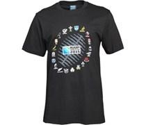 Canterbury Herren 2 Nations Ball Graphic T-Shirt Schwarz