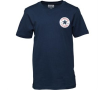 Converse Junior CTP Left Chest T-Shirt Navy