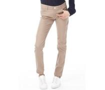 adidas Neo Damen Skinny Jeans Khaki