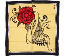 X Amy Winehouse Silk Schal Goldfarbig