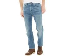 Squam Lake Jeans mit geradem Bein Gewaschtes Steingrau