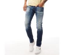 Glenn Fox JJ 176 Jeans in Slim Passform Denim