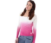 Damen Sarasota Dip Dye Pullover mit Rundhalsausschnitt Pink
