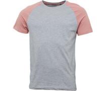 Herren Baptist T-Shirt Graumeliert