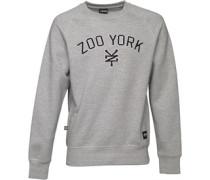 Herren Bridge Logo Sweatshirt Graumeliert