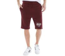 Herren New Shorts Burgunderrot