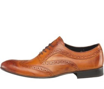Herren Commerce Brogue Schuhe Hellbraun